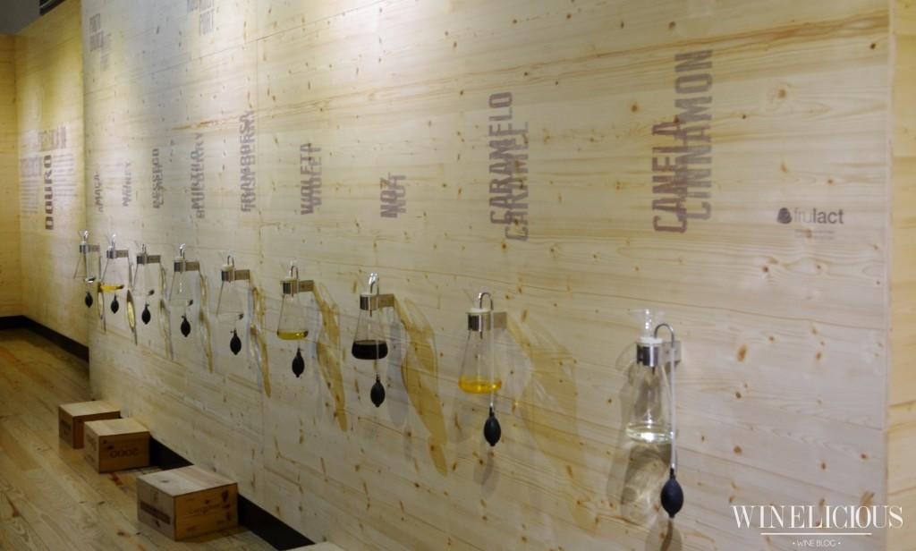 Aromas encontrados  nos vinhos do Douro e do Porto